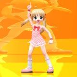 Danses de fille de Manga Photos libres de droits