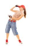 Danseur élégant Photo libre de droits