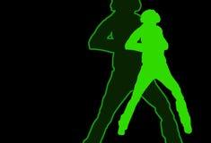 Danseur illustration stock