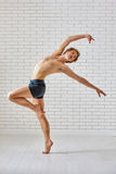 Danseur photo stock