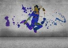 Danseur abstrait Photographie stock