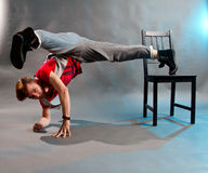 Danseur acrobatique Image stock