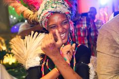 Danseur africain image stock