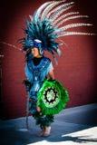 Danseur aztèque photographie stock