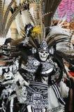 Danseur aztèque Photo stock