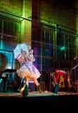 Danseur burlesque Photo libre de droits