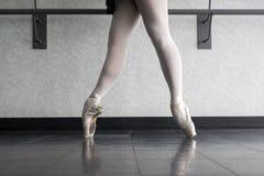 Danseur classique En Pointe dans le 4ème Photos stock