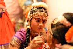 Danseur classique indien Photos libres de droits