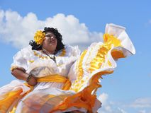 Danseur d'Amérique centrale images stock