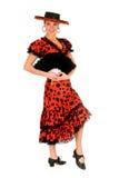Danseur d'Espagnol de femme Photos stock