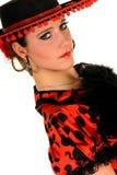 Danseur d'Espagnol de femme Photographie stock