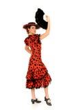 Danseur d'Espagnol de femme Photo stock