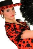 Danseur d'Espagnol de femme Image stock