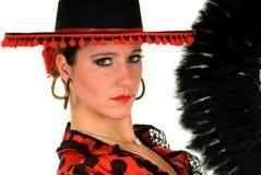 Danseur d'Espagnol de femme Images stock