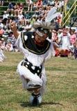 Danseur d'herbe de Powwow Photos stock