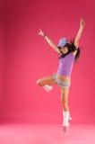Danseur d'houblon de gratte-cul Photos stock