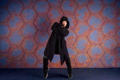 Danseur dans le mouvement Photos libres de droits