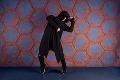 Danseur dans le mouvement Images stock