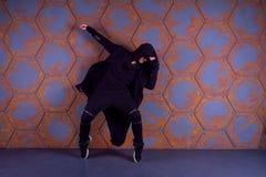Danseur dans le mouvement Image libre de droits