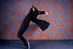 Danseur dans le mouvement Photos stock