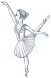 Danseur de ballet Illustration Libre de Droits