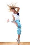 Danseur de ballet moderne de femme Photographie stock libre de droits