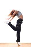 Danseur de ballet moderne de femme photographie stock