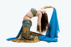 danseur de bleu de ventre image stock