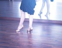 Danseur de danse de salle de bal Photographie stock