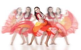 Danseur de groupe image libre de droits