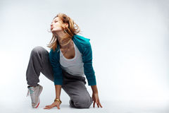 Danseur de Hip-hop Images stock