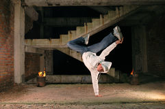 Danseur de Hip-hop Photo libre de droits