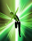 Danseur de Hip Hop illustration de vecteur