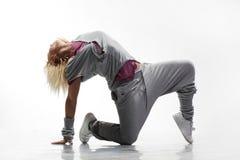 Danseur de Hip-hop Photographie stock libre de droits