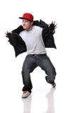 Danseur de Hip Hop Images libres de droits
