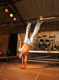 Danseur de hip-hop de style libre Photos stock