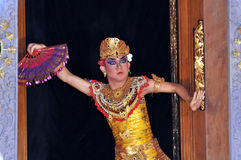 Danseur de Legong dans bali Photo stock