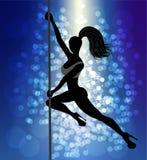 Danseur de Pôle illustration libre de droits