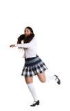 Danseur de prise féminin Photographie stock libre de droits