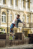 Danseur de rue Images stock