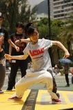 Danseur de rue Photographie stock libre de droits