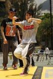 Danseur de rue Photographie stock