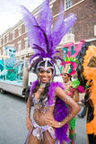 Danseur de samba Photographie stock libre de droits