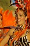 Danseur de samba Images stock
