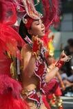 Danseur de samba Photos stock
