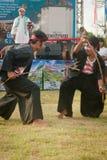 Danseur de Singo Ulung. Photographie stock libre de droits