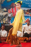 Danseur de Singo Ulung. Images libres de droits