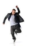 Danseur de type de Hip-hop Image libre de droits
