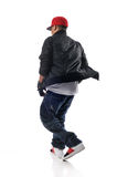 Danseur de type de Hip-hop image stock