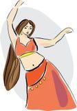 Danseur de ventre Photographie stock libre de droits